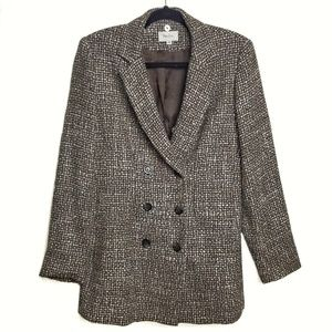 Vintage Neiman Marcus Exclusive Tweed Blazer Sz 10